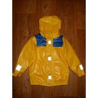Куртка-дождевик на флисе 98-104-110