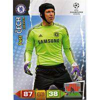 Коллекция PANINI Лига Чемпионов УЕФА 2011-2012. Adrenalyn XL // Chelsea // Cech