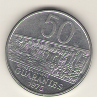 50 гуарани 1975 г.