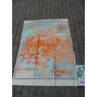 """Карта """"Великая октябрьская социалистическая революция"""""""
