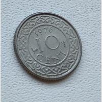 Суринам 10 центов, 1976 6-11-28
