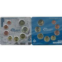 Сан Марино набор евро 2012 (8 монет)