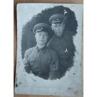 Фото двух военных. 8.5х12 см