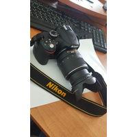 Nikon D3200 kit 18-55 mm VR с 1 рубля