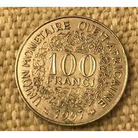 Западная Африка 100 франков 1997, западные африканские штаты