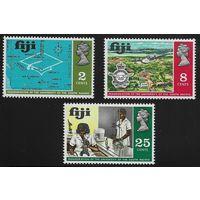 1969 Фиджи 255-257 Южно-тихоокеанский университет Инаугурация