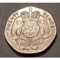 20 пенсов, Великобритания 1982 г.