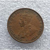 Австралия 1/2 пенни 1926 г. #1018