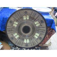 Настенная тарелка, керамика, 37 см.