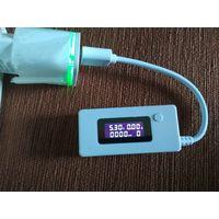 USB тестер 3в1 : амперметр, вольтметр, измеритель емкости батареи
