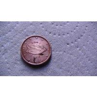 Ирландия 1 евроцент 2002г . #1 распродажа
