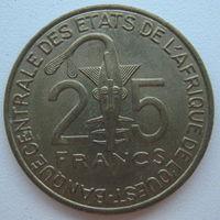 Западная Африка 25 франков 2003 г.