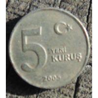 5 куруш 2005 Турция