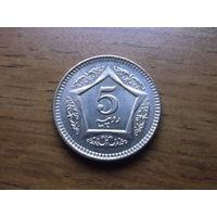 Пакистан 5 рупий 2006