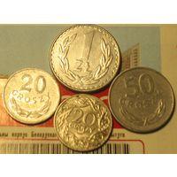 20 грошей 1923 Польша + алюминий