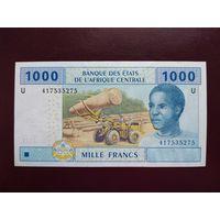 Камерун 1000 франков 2010 UNC