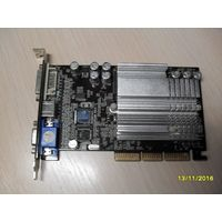 Видеокарта AGP GeForce FX5200 128Mb