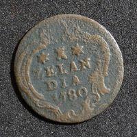 Нидерланды 1 дуит, 1780