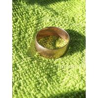 Кольцо обручальное мужское,золото 375 проба,СССР