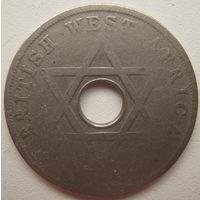 Британская Западная Африка 1 пенни 1920 г.