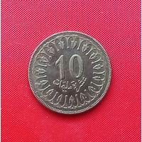 05-36 Тунис, 10 миллимов 2009 г. Единственное предложение монеты данного года на АУ