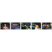 Китайское аниме Сент-Винсент и Гренадины 1996 год 5 чистых марок в сцепке