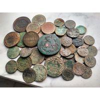 Лот царских монет 80 штук!! С рубля!! Без мц!
