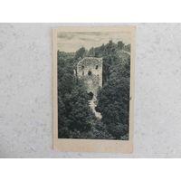 Фотооткрытка, г. Сигулда, руины замка, датирована 21 июля 1945 г.