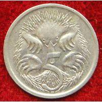 7311:  5 центов 1987 Австралия