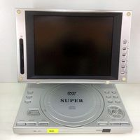 ПОРТАТИВНЫЙ DVD + TV плеер с USB-портам