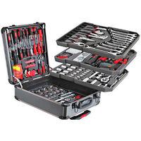 Набор инструментов в чемодане 186 предметов