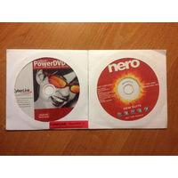 Диски с софтом: Nero 6 и PowerDVD 5 (лицензия)