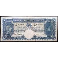 Австралия, 5 фунтов 1952 год, Р27