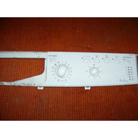 Передняя панель управления (кнопки и лампочки, с регуляторами) стиральной машины INDESIT IWUB 4105 БУ