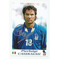 Pierluigi Casiraghi(Италия). Живой автограф на фотографии.