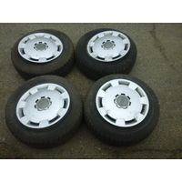 Диски c ауди, колпаки, резина зимняя Dunlop Sprinter 195/65/R15