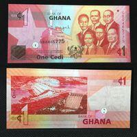 Банкноты мира. Гана, 1 седи