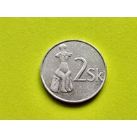 Словакия. 2 кроны 1993.