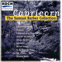CD Samuel Barber - Capricorn - The Samuel Barber Collection (2006)