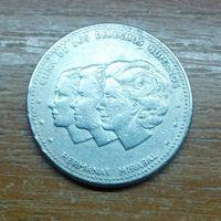 Доминиканская Республика 25 сентаво 1986 (1)