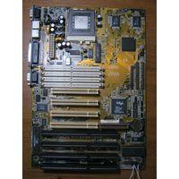Материнская плата ASUS P/I-XP55T2P4 с процессором Intel Pentium 233 MMX