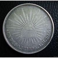 Мексика (Вторая республика). 1 песо 1898 г.