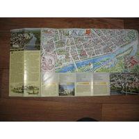 Пинск (туристическая схема-буклет)