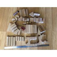 Конструктор кубики деревянные