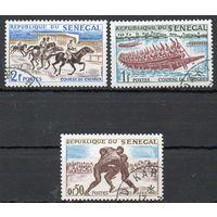 Национальный спорт Сенегал 1961 год 3 марки
