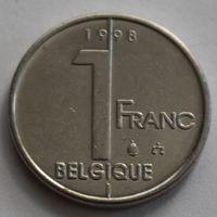 Бельгия, 1 франк 1998 г. 'BELGIQUE'