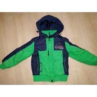 Куртка деми для мальчика на 4-5 лет