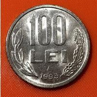 103-18 Румыния, 100 лей  1993 г.