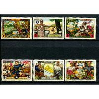 Либерия - 1949г. - Поселенцы в Либерии. Независимость - полная серия, MNH [Mi 420-425] - 6 марок