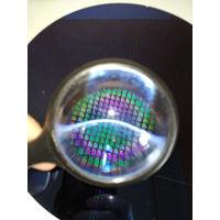 """Настоящая Кремневая 8"""" (Треснутая) пластина с мелкими микросхемами"""